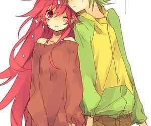 adorable, anime, and flaky image