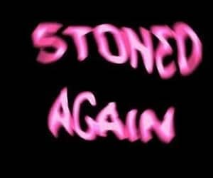 stoned, weed, and drugs image