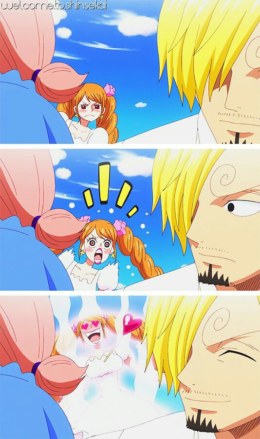 Sanji To Pudding Discovered By Lady On We Heart It