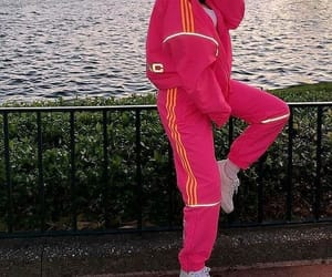 fashion, pink, and casual image