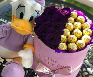 chocolate, flowers, and beautiful gifts image