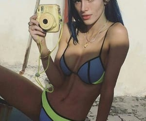 bikini, Hot, and polaroid image