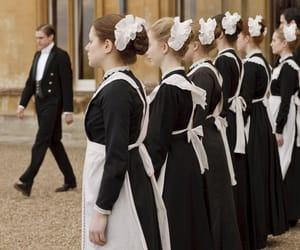 downton abbey, maid, and vintage image
