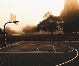 art, autumn, and Basketball image