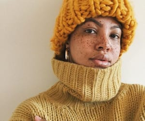 autumn, fashion, and freckles image