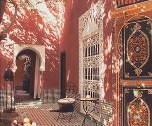 travel, morocco, and pink image