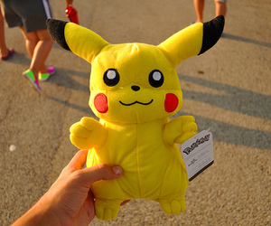 pikachu, photography, and pokemon image