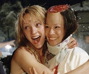 kill bill, uma thurman, and lucy liu image