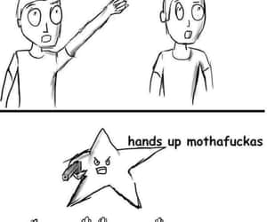 hands up, star, and stars image