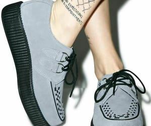 creepers, goth, and shoes image