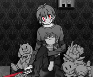 art, undertale, and chara image