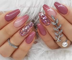 design, fashion, and nails image