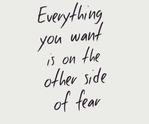 quotes, fear, and motivation image