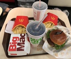food, McDonald's, and vacation image