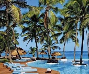 travel, punta cana, and paradise image