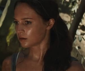 gif, alicia vikander, and lara croft image