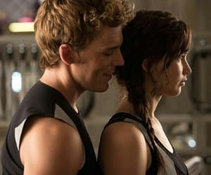 Jennifer Lawrence, hunger games, and finnick odair image