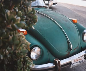 beatle, vintage, and cars image