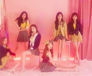 april, kpop, and pink image