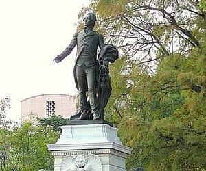 statue, lafayette square, and jean alexandre joseph image