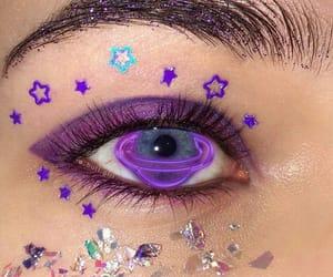 eye, eyes, and lens image