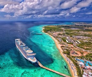 ocean, summer, and turks and caicos islands image