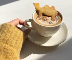 aesthetic, carefree, and coffee image