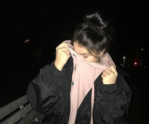 girl, style, and black image
