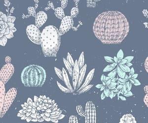 wallpaper, cactus, and cute image