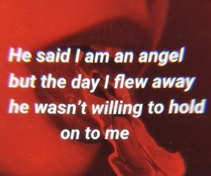 angel, boys, and dark image