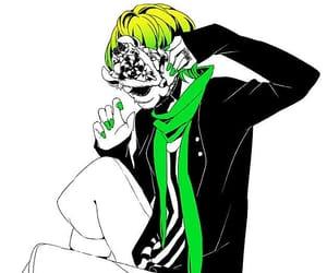 anime, colour splash, and htf image