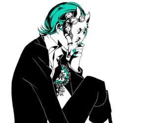 anime, mask, and masked image