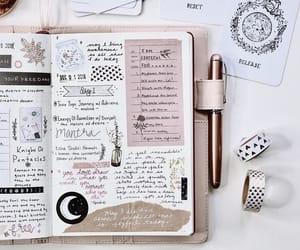 bujo, journal, and journaling image