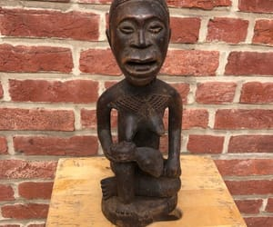 african art, congo, and maternity image