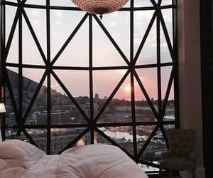 bedroom, view, and home image