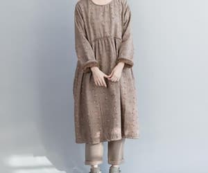 etsy, winter dress, and round neck image
