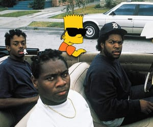 bart simpson, simpsons, and bart image
