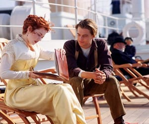 leonardo dicaprio and titanic image