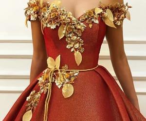 dress, beautiful, and fashion image