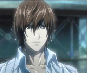 death note, anime, and kira image