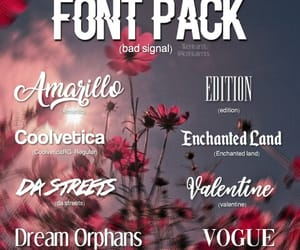 fonts, help, and idk image