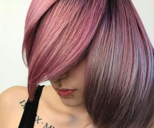 color hair, cute, and hair image