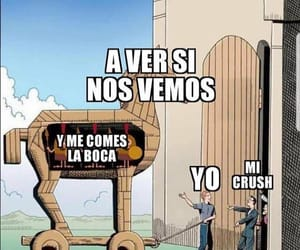 crush, divertido, and funny image