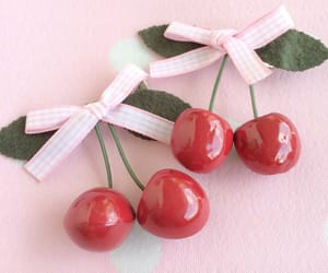 cherry, lovely, and pink image