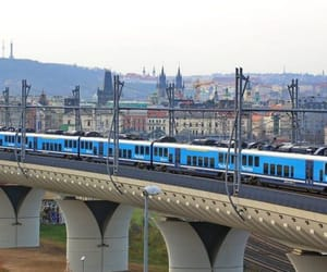 bridge, city, and wifi image