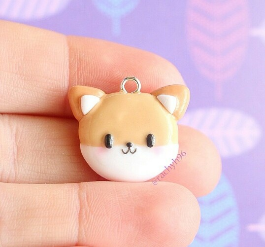 charms, polymerclay, and diy image