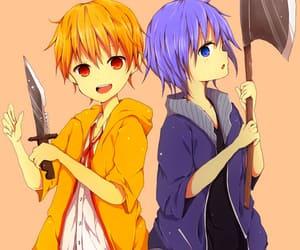 anime, htf anime, and axe image