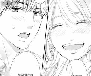 couple, manga, and one shot image