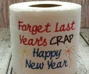 crap and new year image