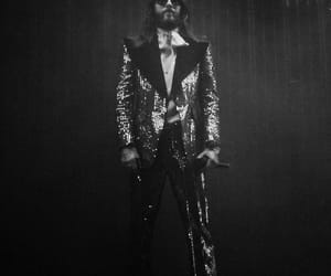 30 seconds to mars, jared leto, and suit image